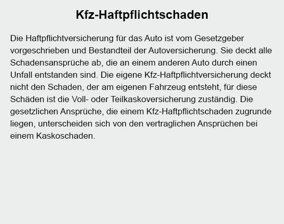 Haftpflichtschaden bei 14669 Ketzin (Havel)